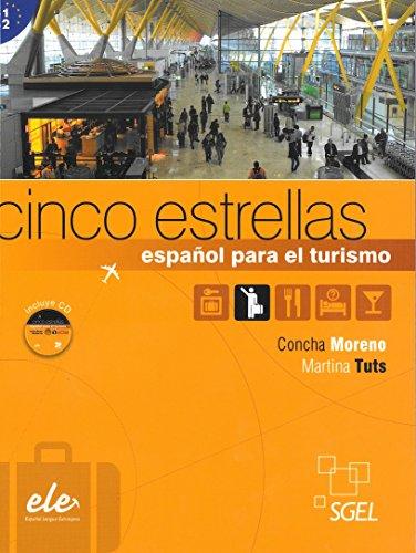9788497784849: Cinco estrellas. Espanol para el turismo +CD (Spanish Edition)