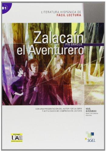 9788497785051: Literatura Hispanica De Facil Lectura: Zalacain El Aventurero (Spanish Edition)