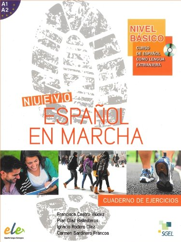 9788497785310: Nuevo Espanol en Marcha Basico : Exercises Book + CD: Levels A1 and A2 in One Volume