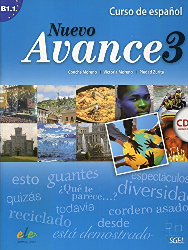 9788497785327: Nuevo avance. Con CD Audio. Per i Licei e gli Ist. magistrali: Nuevo Avance 3 alumno + cd
