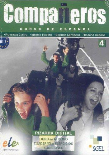 9788497785570: Companeros 4: Pizarra Digital (Interactive CD-Rom Software)