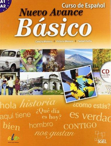 9788497785952: Nuevo Avance Básico alumno + CD