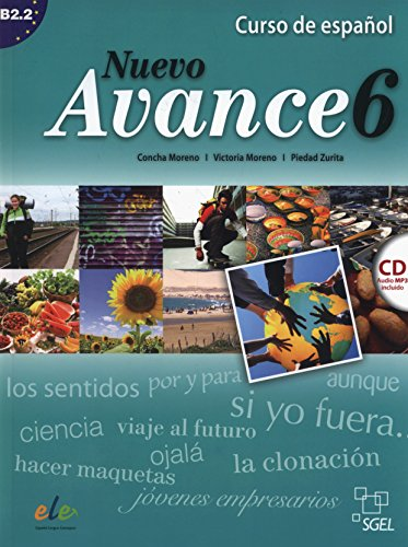 9788497786539: Nuevo Avance 6 Student Book + CD B2.2 (Spanish Edition)