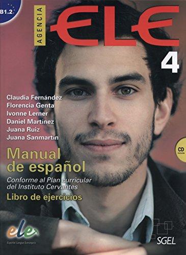 9788497786584: Agencia ELE 4 Libro de ejercicios + CD
