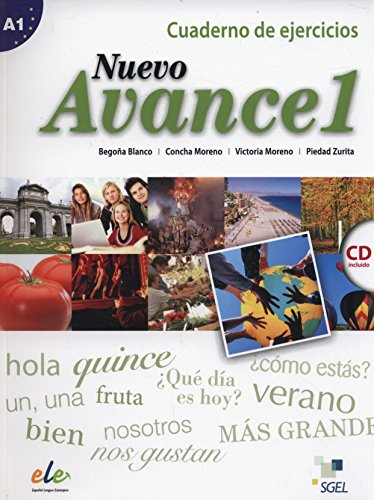 Nuevo Avance 1 Exercises Book + CD: Begona Blanco