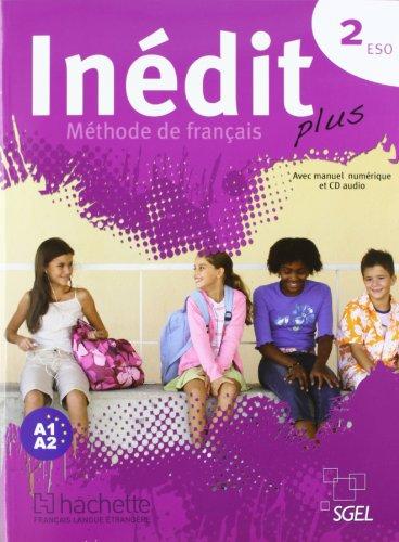 9788497787031: Inédit Plus 2 (Book & CD)