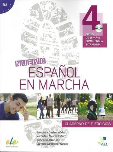 9788497787246: Nuevo Español en marcha 4 ejercicios + CD (Nuevo Espanol en Marcha)