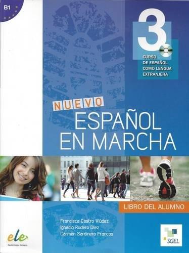 9788497787406: Nuevo Espanol en marcha 3. Libro del alumno + CD (Spanish Edition)