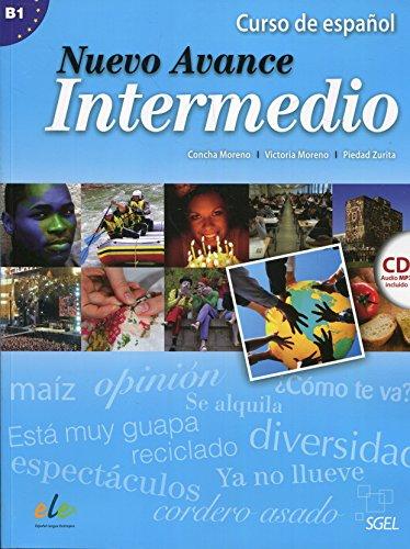 9788497787437: Nuevo Avance Intermedio Student Book + CD B1: Libro Del Alumno Intermedio + CD (B1.1 + B1.2 in One Volume) [Lingua spagnola]