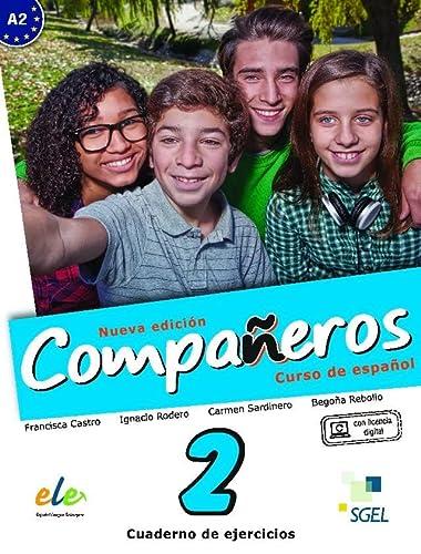 9788497789103: Companeros: Exercises Book with Access to Internet Support 2016: Curso de Espanol