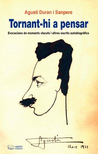 9788497795814: Tornant-hi a pensar: Evocacions de moments viscuts i altres escrits autobiogràfics (Guimet)