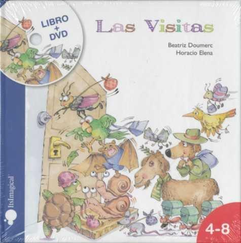 9788497804646: Las visitas (libro + DVD)