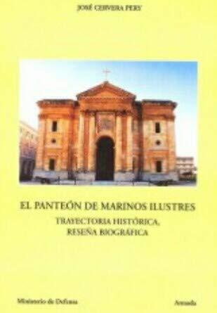 Panteón de marinos ilustres: Cervera Pery, José