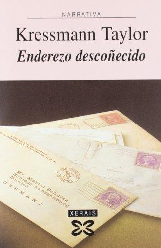 9788497826051: Enderezo descoñecido / Address Unknown (Galician Edition)