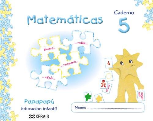 9788497827683: Papapapú. Matemáticas. Caderno 5
