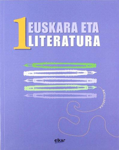 9788497831710: Batxilergoa 1 - Euskara eta Literatura 1