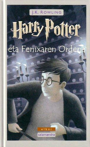 9788497831901: Harry Potter eta Fenixaren Ordena
