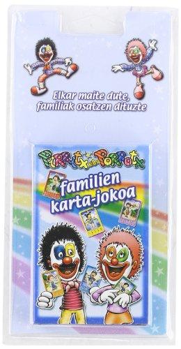 9788497833264: Pirritx eta Porrotx. Familien karta-jokoak (Familiak milakolore)