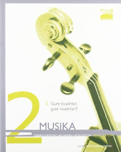 9788497836081: Ostadar 2 - Musika 2-1
