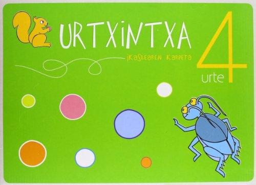 9788497838641: Urtxintxa 4 urte - Ikaslearen karpeta
