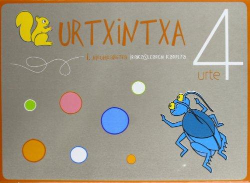 9788497838658: Urtxintxa 4 urte - Irakaslearen karpeta 1