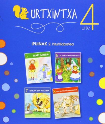 9788497838696: Urtxintxa 4 urte - 2. hiruhilabeteko ipuinak (5-8)