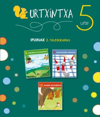 9788497839945: Urtxintxa 5 urte. 3. hiruhilabeteko ipuinak (9-10)