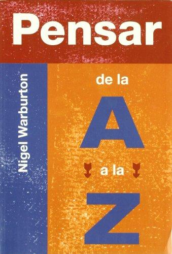 9788497840842: Pensar de La A A La Z (Spanish Edition)
