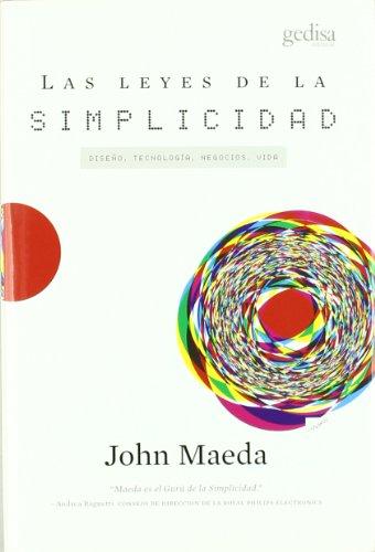 9788497841597: Las Leyes de La Simplicidad (Spanish Edition)
