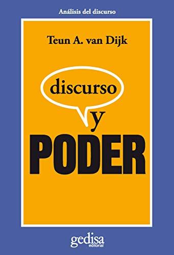 9788497842822: Discurso y Poder (Spanish Edition)