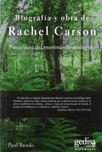 9788497845687: BIOGRAFIA Y OBRA DE RACHEL CARSON-PRECURSORA DEL MOVIMIENTO
