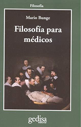 9788497847391: Filosofía para médicos