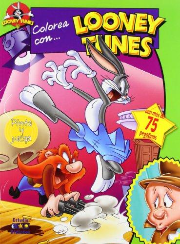 9788497865241: Colorea con Looney Tunes y Bugs Bunny