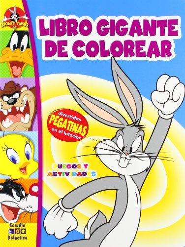 9788497865296: Libro gigante de colorear - bugs bunny