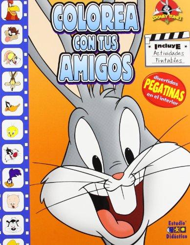 9788497865340: Colorea Con Tus Amigos - Bugs Bunny
