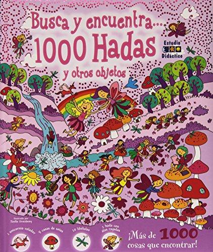 9788497866453: Busca y encuentra 1000 hadas