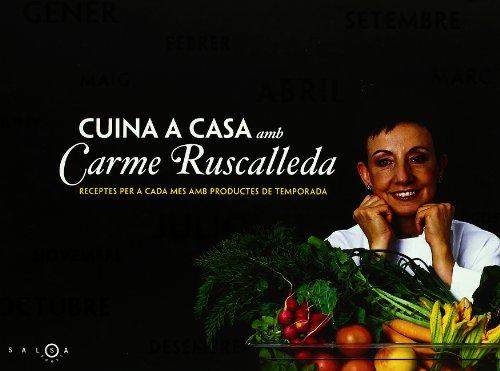 9788497871549: Cuina a casa amb Carme Ruscalleda (SALSA)