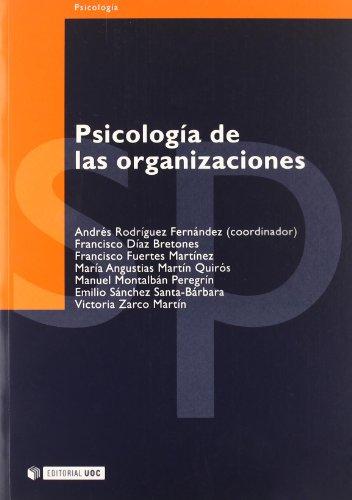 9788497880183: 19: Psicologia de las organizaciones (Psicologia / Psychology)