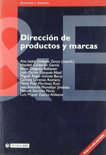 9788497880312: Direccion de productos y marcas