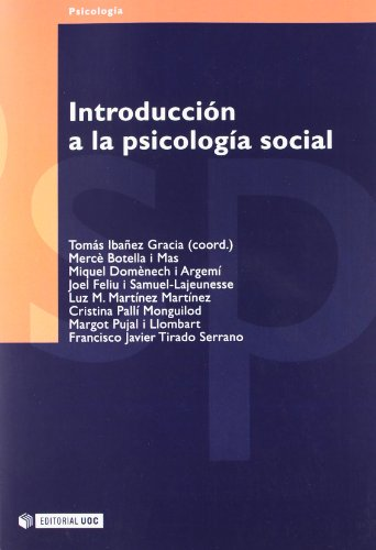 9788497881326: 30: Introduccion a la psicologia social / Introduction to Social Psychology (Psicologia / Psychology) (Spanish Edition)