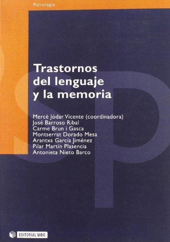 9788497882200: Trastornos del lenguaje y la memoria (Manuales)