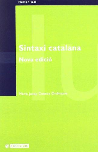 9788497882798: Sintaxi catalana (Manuals)