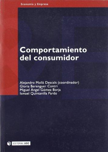 9788497883245: Comportamiento del consumidor (Manuales)