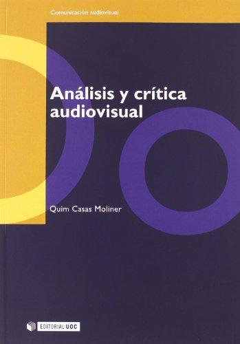 9788497884846: Análisis y crítica audiovisual