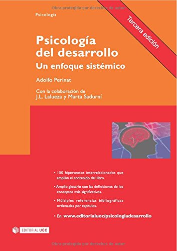 9788497885782: Psicología del desarrollo. Un enfoque sistémico. Tercera edición (incluye web) (Manuales/ Psicologia) (Spanish Edition)