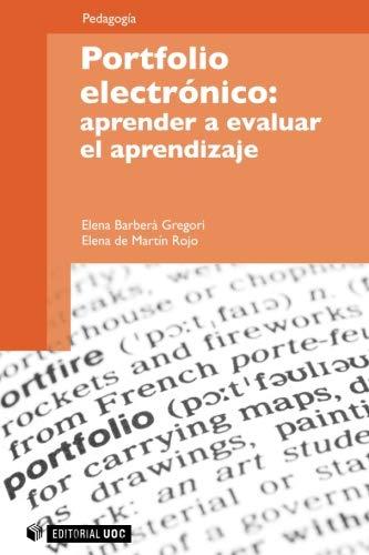 9788497888516: Portfolio electrónico: aprender a evaluar el aprendizaje (Manuales)