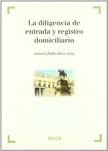 DILIGENCIA DE ENTRADA Y REGISTRO DOMICILIARIO: ANTONIO PABLO RIVES