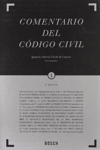 Comentario del Codigo Civil.: Sierra Gil De