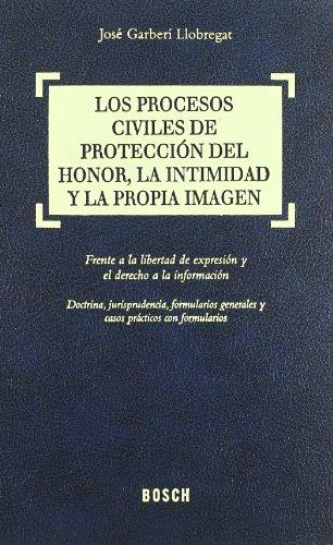 Los procesos civiles de protección del honor, la intimidad y la propia imagen: Buitrón ...