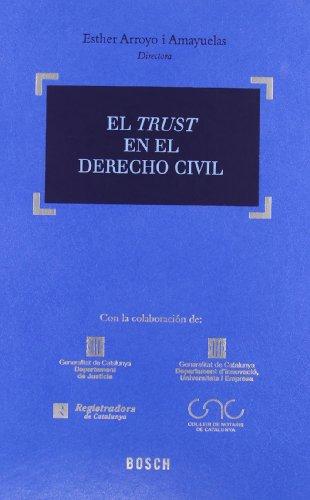 El Trust en el Derecho Civil: Arroyo Amayuelas, E. (Dir.)